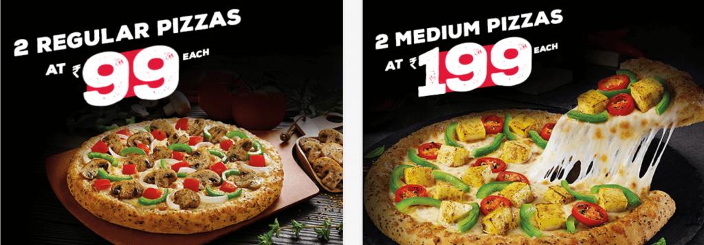 Dominos Pizza Offer