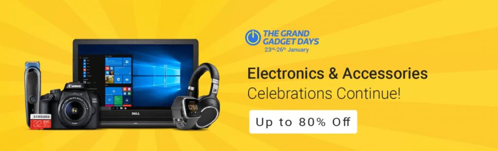 Flipkart Grand Gadget Days Sale